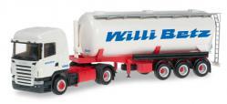 Herpa 303569 Scania R 04 HL Silo-Sattelzug  Willi Betz  1:87