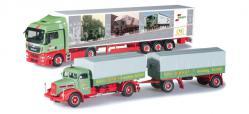 Herpa 303606 Set mit zwei Modellen 75 Jahre Spedition Wandt 1:87