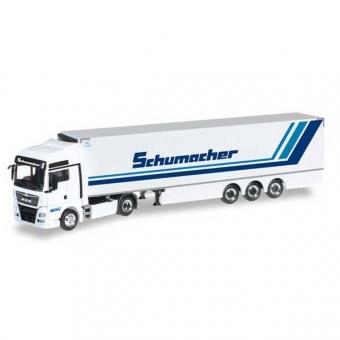 Herpa 306263 MAN TGX XXL Euro 6 Kühlkoffer-Sattelzug Spedition Schumacher 1:87