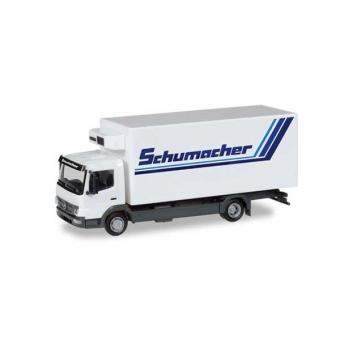 Herpa 308540 Mercedes-Benz Atego 10 Kühlkoffer-LKW Spedition Schumacher 1:87