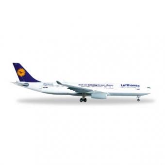 Herpa 514965-003 Wings Airbus A330-300 Lufthansa Shark Skin 1:500