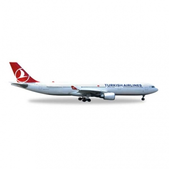 Herpa 529556 Wings Airbus A330-300 Turkish Airlines EM 2016 1:500