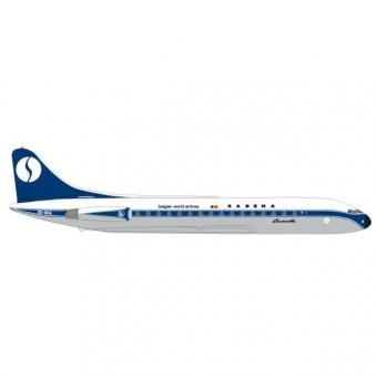 Herpa 531672 Wings Sud Aviation Caravelle Sabena 1:500