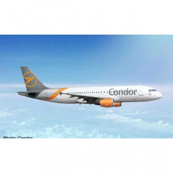 Herpa 534307 Wings Airbus A320 Condor - new 2019 colors 1:500