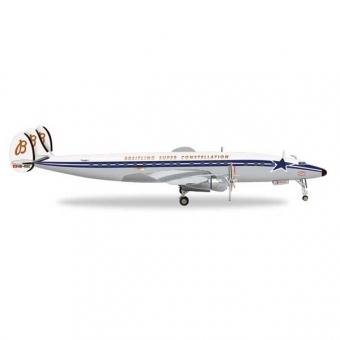 Herpa 558488 Wings Lockheed L-1049H S. Constellation SCFA / Breitling 1:200
