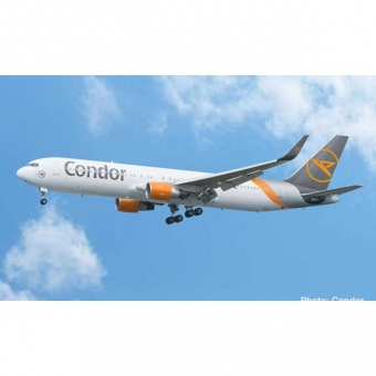 Herpa 612647 SnapFit Boeing 767-300 Condor - new 2019 colors 1:200