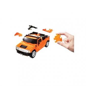 Herpa 80657100 Puzzle Fun 3D Hummer H2 standard orange 1:32