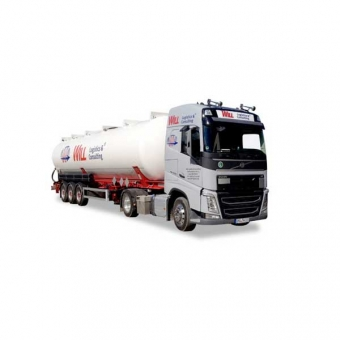 Herpa 921695 Volvo FH Gl. Silo-Sattelzug Will Logistics & Consulting 1:87
