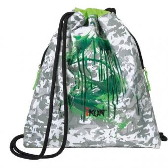 iKON Cinch Bag Deep Green