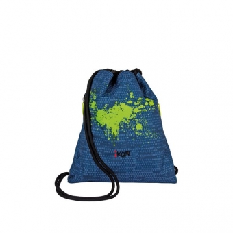 iKON Cinch Bag Blue Structure