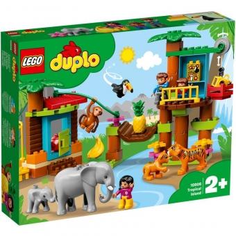 LEGO DUPLO 10906 - Baumhaus im Dschungel