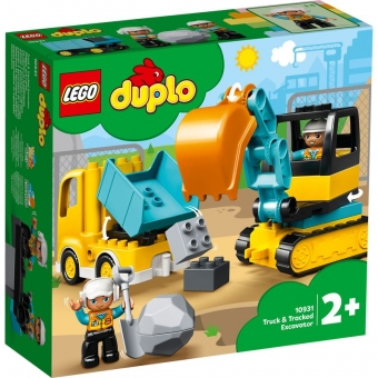 LEGO DUPLO 10931 - Bagger und Laster