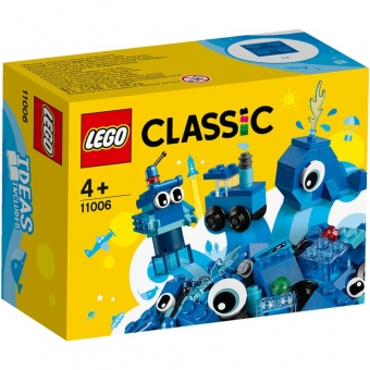 LEGO Steine & Co. 11006 - Blaues Kreativ-Set