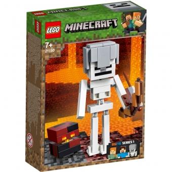 LEGO Minecraft 21150 - Minecraft-BigFig Skelett mit Magmawürfel