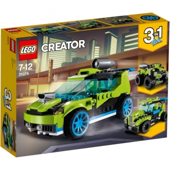 LEGO Creator 31074 - Raketen-Rallyeflitzer