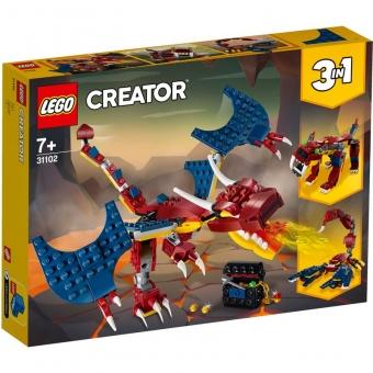 LEGO Creator 31102 - Feuerdrache