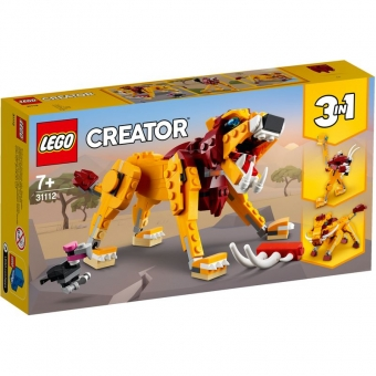 LEGO Creator 31112 - Wilder Löwe