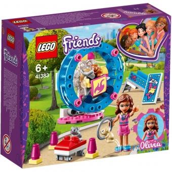 LEGO Friends 41383 - Olivias Hamster-Spielplatz