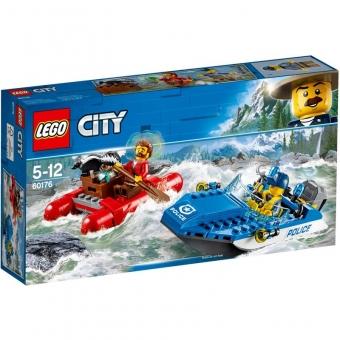 LEGO City 60176 - Flucht durch die Stromschnellen