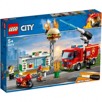 LEGO City 60214 - Feuerwehreinsatz im Burger-Restaurant