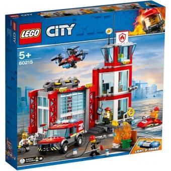 LEGO City 60215 - Feuerwehr-Station