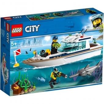 LEGO City 60221 - Tauchyacht