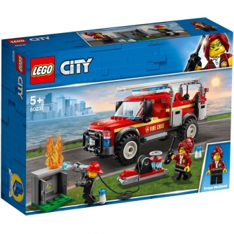 LEGO City 60231 - Feuerwehr-Einsatzleitung