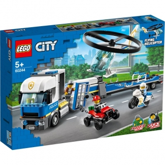 LEGO City 60244 - Polizeihubschrauber-Transport