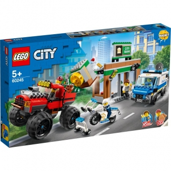 LEGO City 60245 - Raubüberfall mit dem Monster-Truck