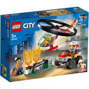 LEGO City 60248 - Einsatz mit dem Feuerwehrhubschrauber