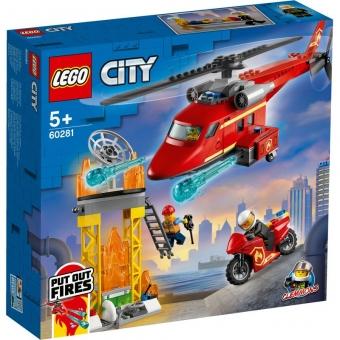 LEGO City 60281 - Feuerwehrhubschrauber