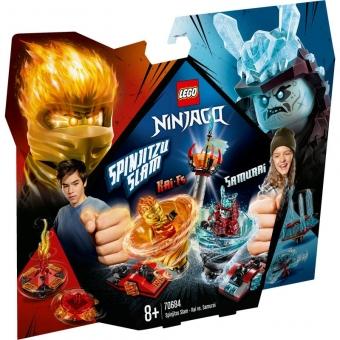 LEGO Ninjago 70684 - Spinjitzu Slam Kai vs. Eis-Samurai