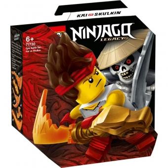 LEGO Ninjago 71730 - Battle Set: Kai vs. Skulkin