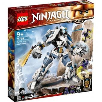 LEGO Ninjago 71738 - Zanes Titan-Mech