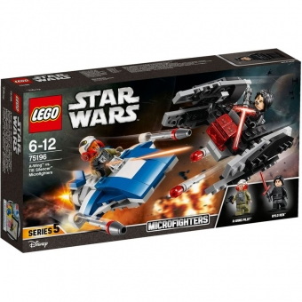LEGO Star Wars 75196 - A-Wing™ vs. TIE Silencer™ Microfighters
