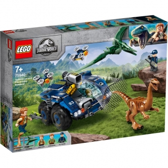 LEGO Jurassic World 75940 - Ausbruch von Gallimimus und Pteranodon