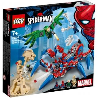 LEGO Marvel Super Heroes 76114 - Spider-Mans Spinnenkrabbler