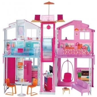 Mattel Barbie DLY32 - 3 Etagen Stadthaus