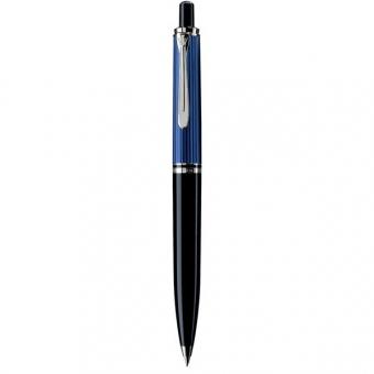 Pelikan Druckbleistift Souverän D 405, Schwarz-Blau-Silber