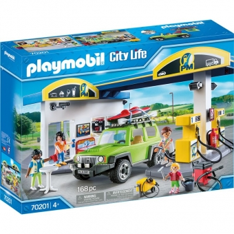 PLAYMOBIL® 70201 - Große Tankstelle