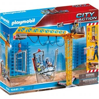 PLAYMOBIL® 70441 - RC-Baukran mit Bauteil