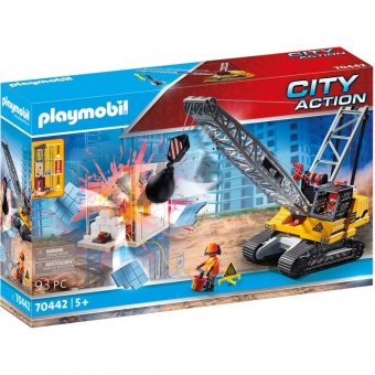 PLAYMOBIL® 70442 - Seilbagger mit Bauteil