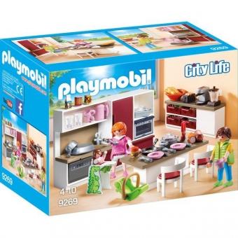 PLAYMOBIL® 9269 - Große Familienküche