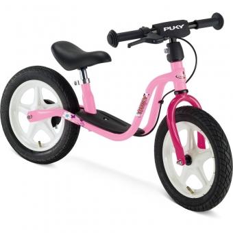 Puky 4065 LR 1Br Laufrad Standard mit Luftbereifung und Bremse, Farbe: rosa/pink