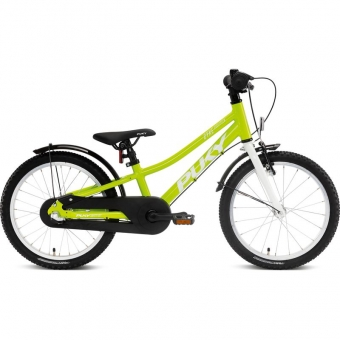 Puky 4406 CYKE 18-3 Alu, Kinderfahrrad, Farbe: freshgreen/white