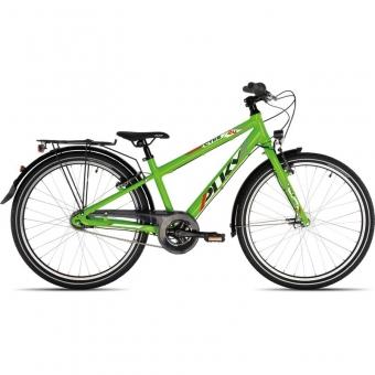 Puky 4772 CYKE 24-7 Alu light, Fahrrad, Farbe: kiwi