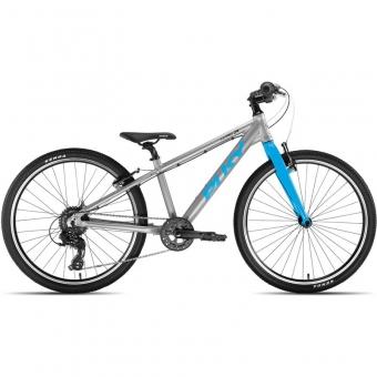 Puky 4774 LS-PRO 24-8 Alu, Fahrrad, Farbe: silber/blau