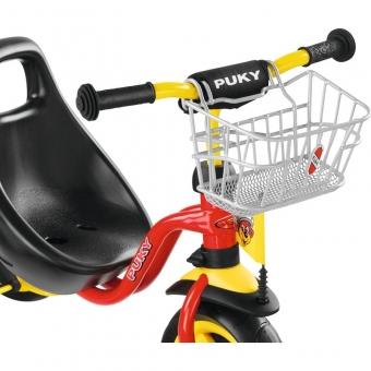 Puky 9119 Lenker-Korb Dreirad/Roller, LKDR, Farbe: silber