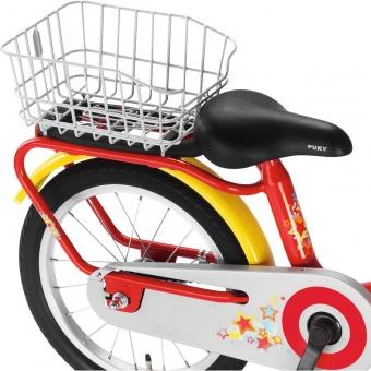 Puky 9139 Gepäckträger-Korb für Fahrräder der Serie Z / ZL, GK Z, Farbe: silber