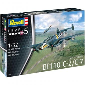 Revell 04961 - Messerschmitt Bf110 C-2/C-7